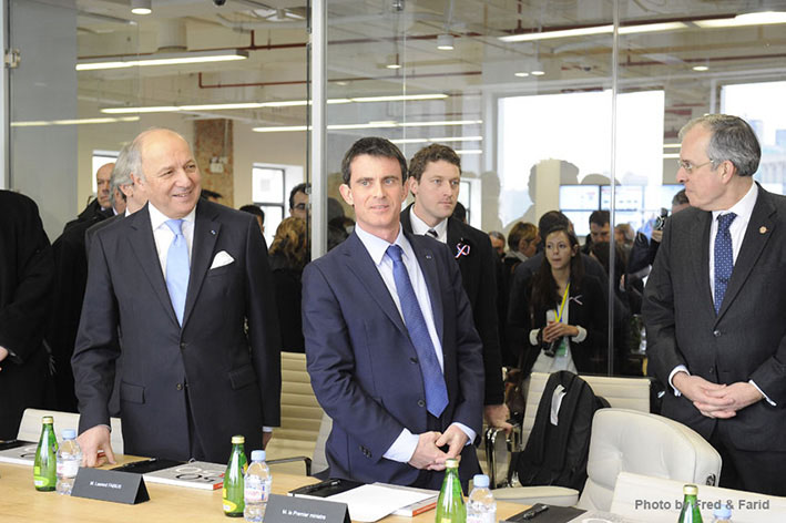 French Prime Minister Meets with NDA's CEO 2