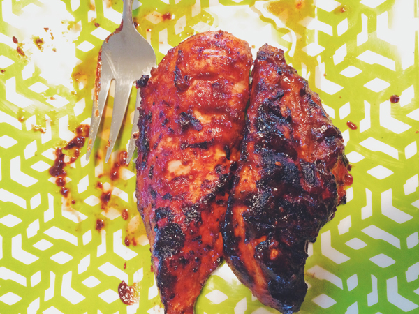 Bomb BBQ Chicken | via Frame of Reference