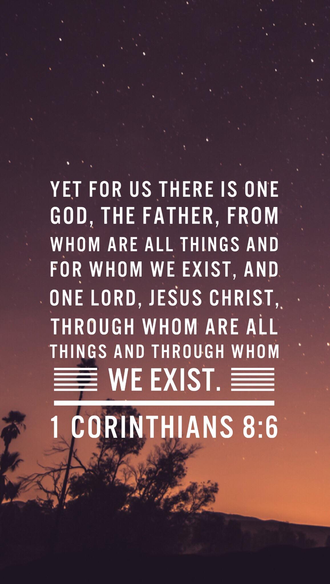 1 Corinthians 8.6.JPG