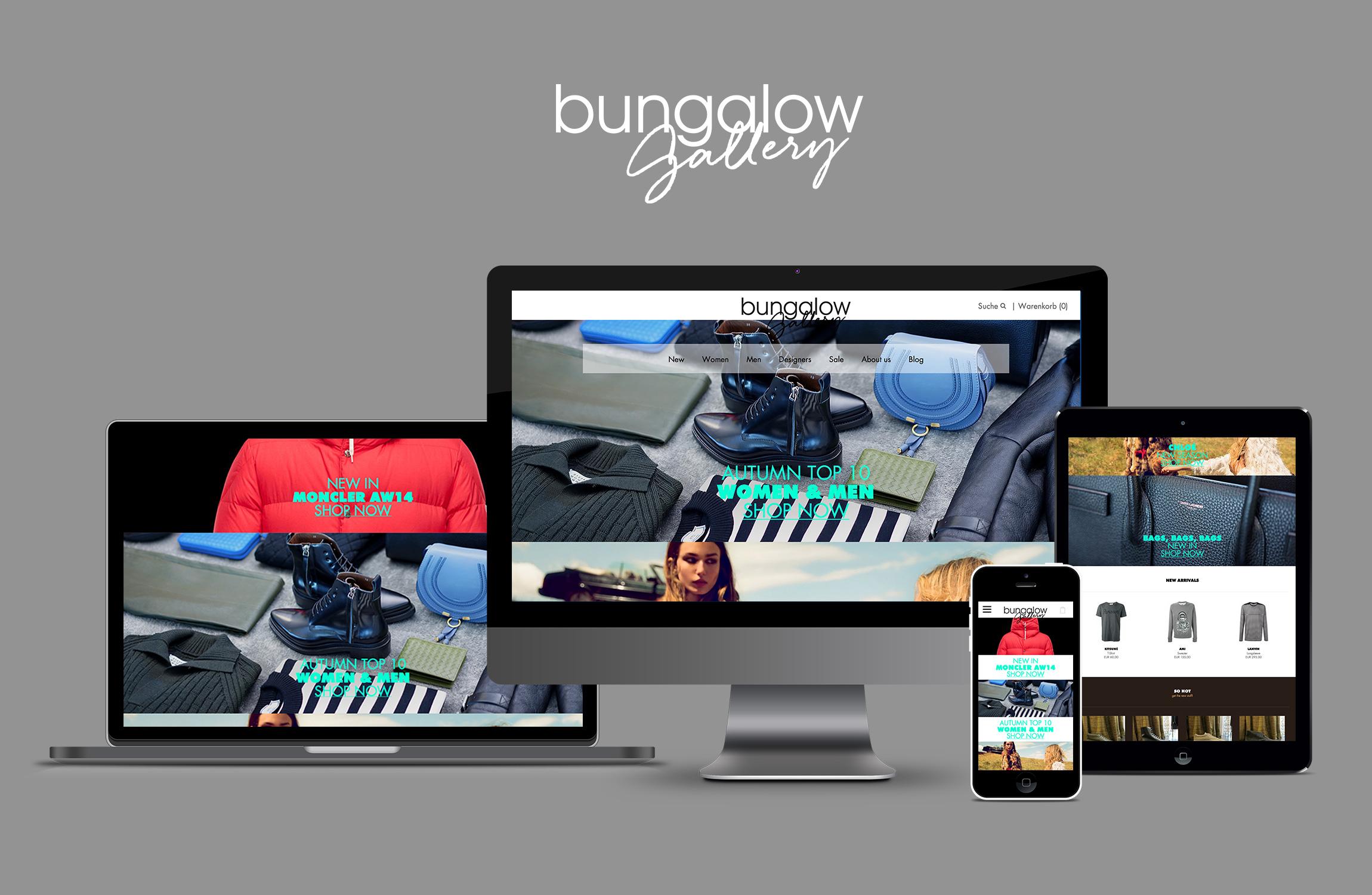 WERBEWELT-Bungalow-Gallery-Responsive-Online-Store