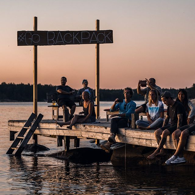 #GOBACKPACKCAMP is on NOW! First impressions of our next level campaign for @jackwolfskin ⏩ #gobackpack #jackwolfskin #sweden #outdoor #naturelovers #summer2019 #backpacking