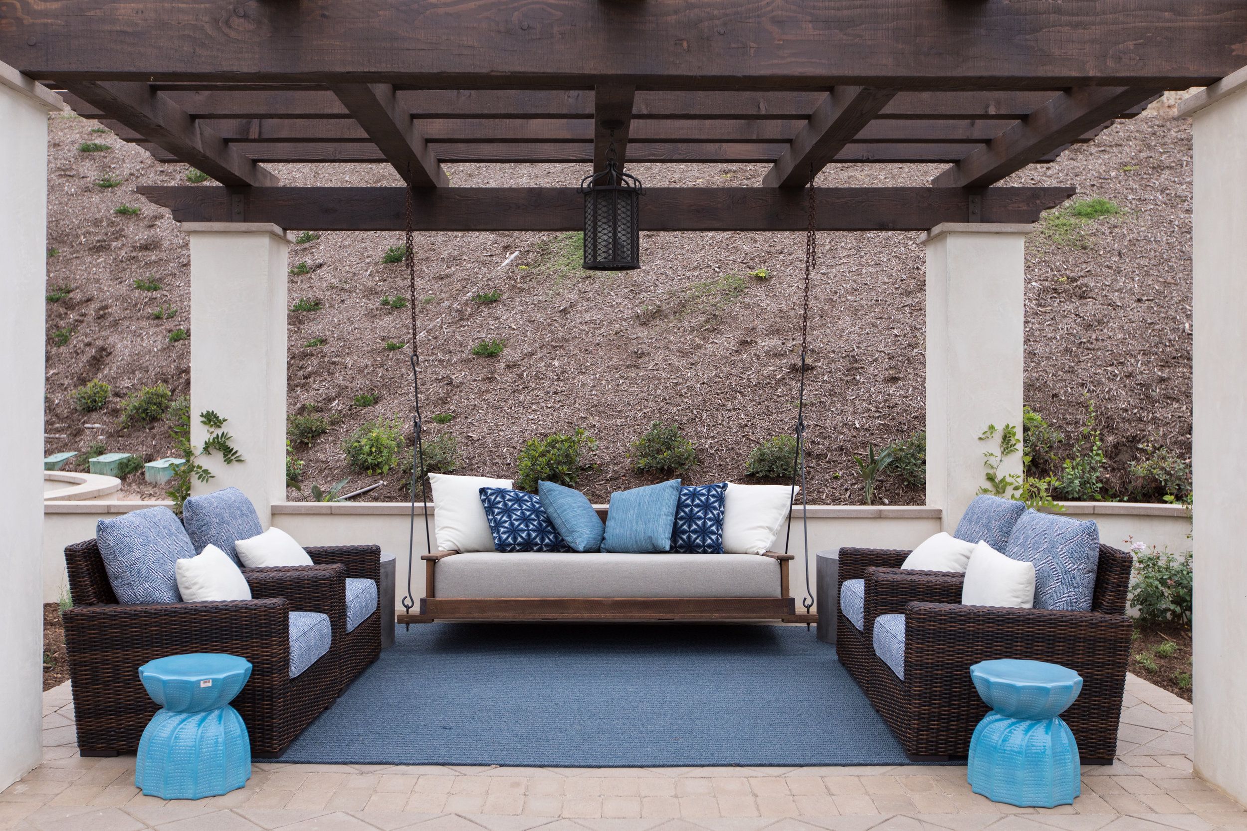 Hilltop Hacienda Outdoor Furniture, Denise Morrison Interiors