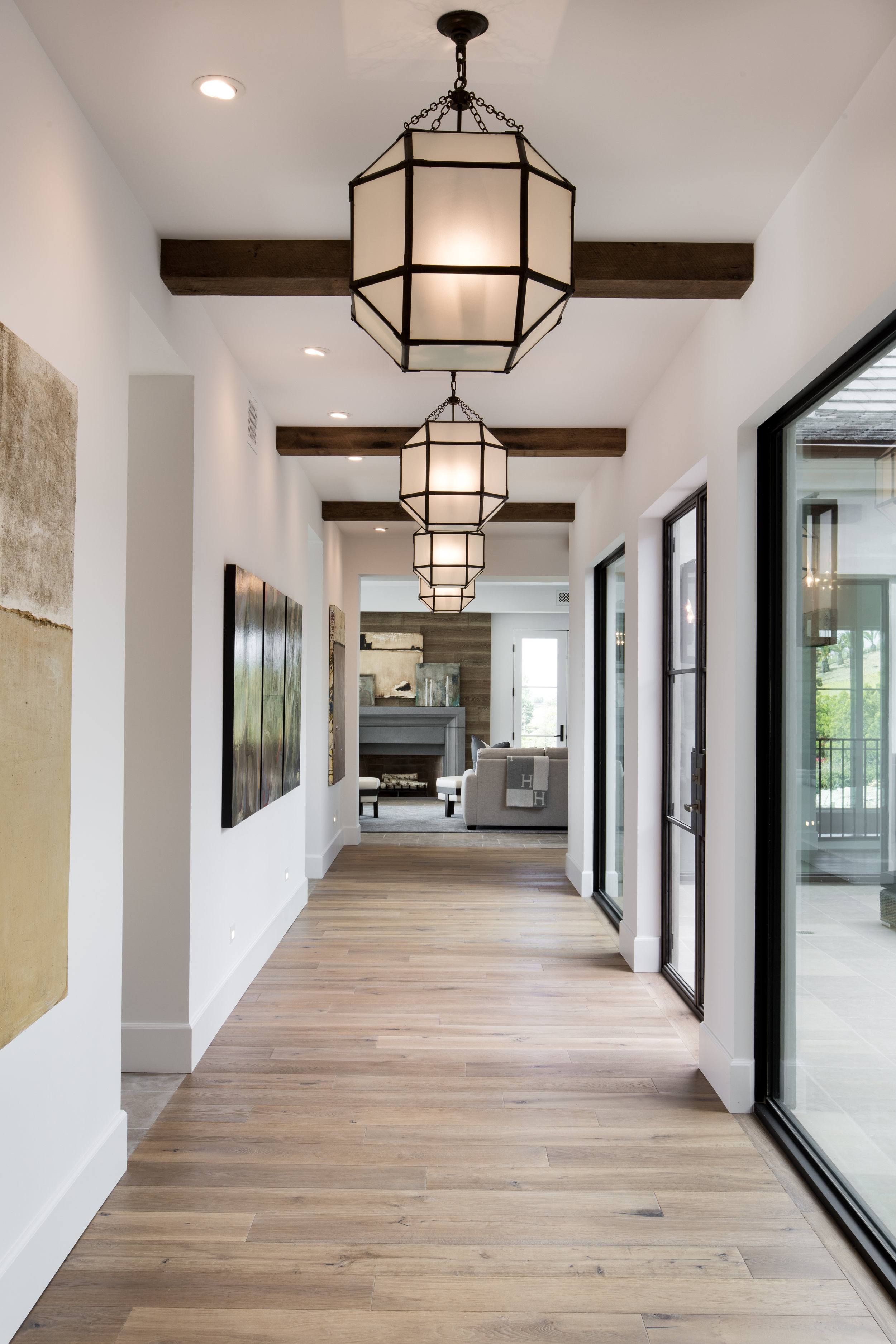 In the Spotlight by Denise Morrison Interiors, Hallway