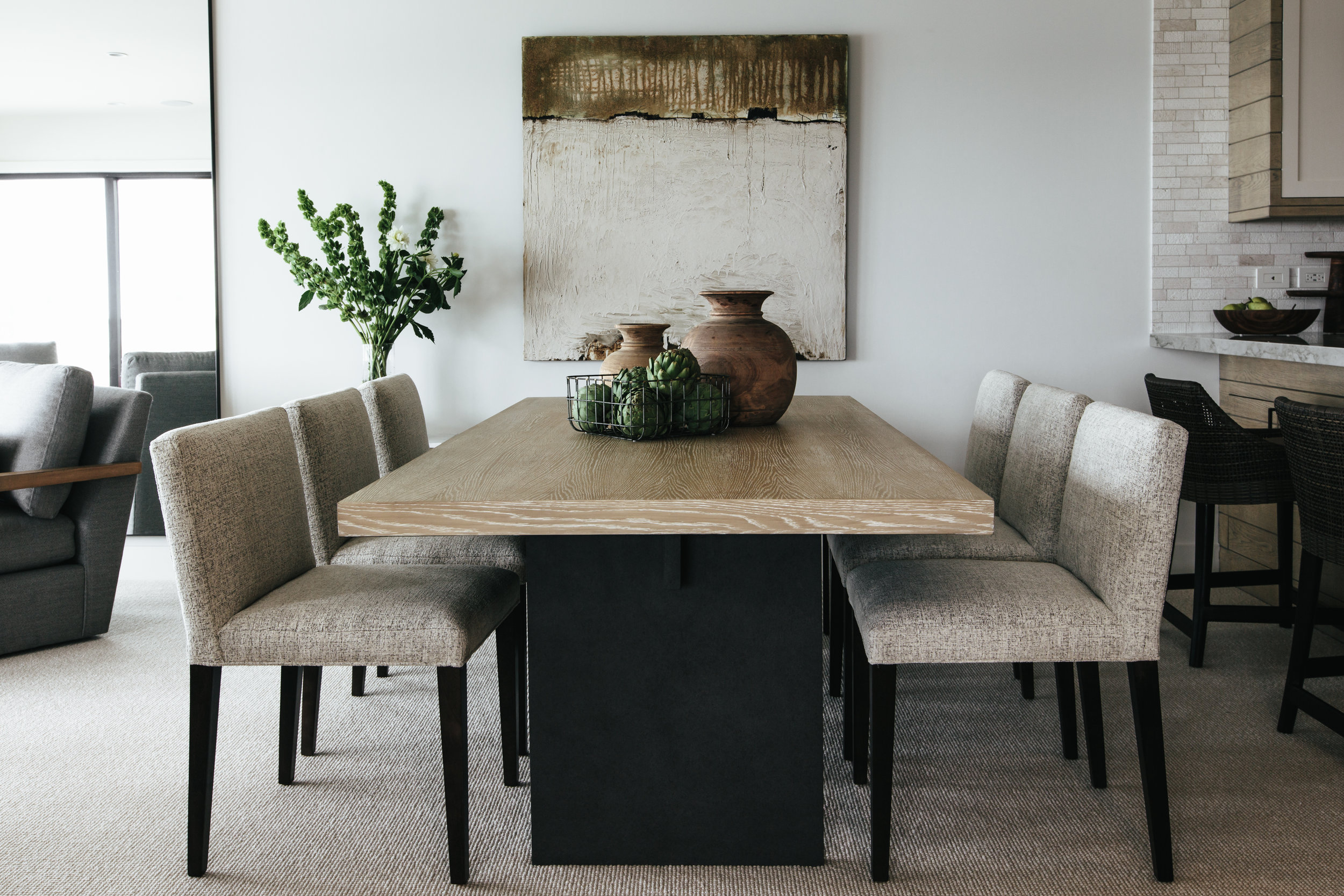 Under the Boardwalk by Denise Morrison Interiors, Dining Room