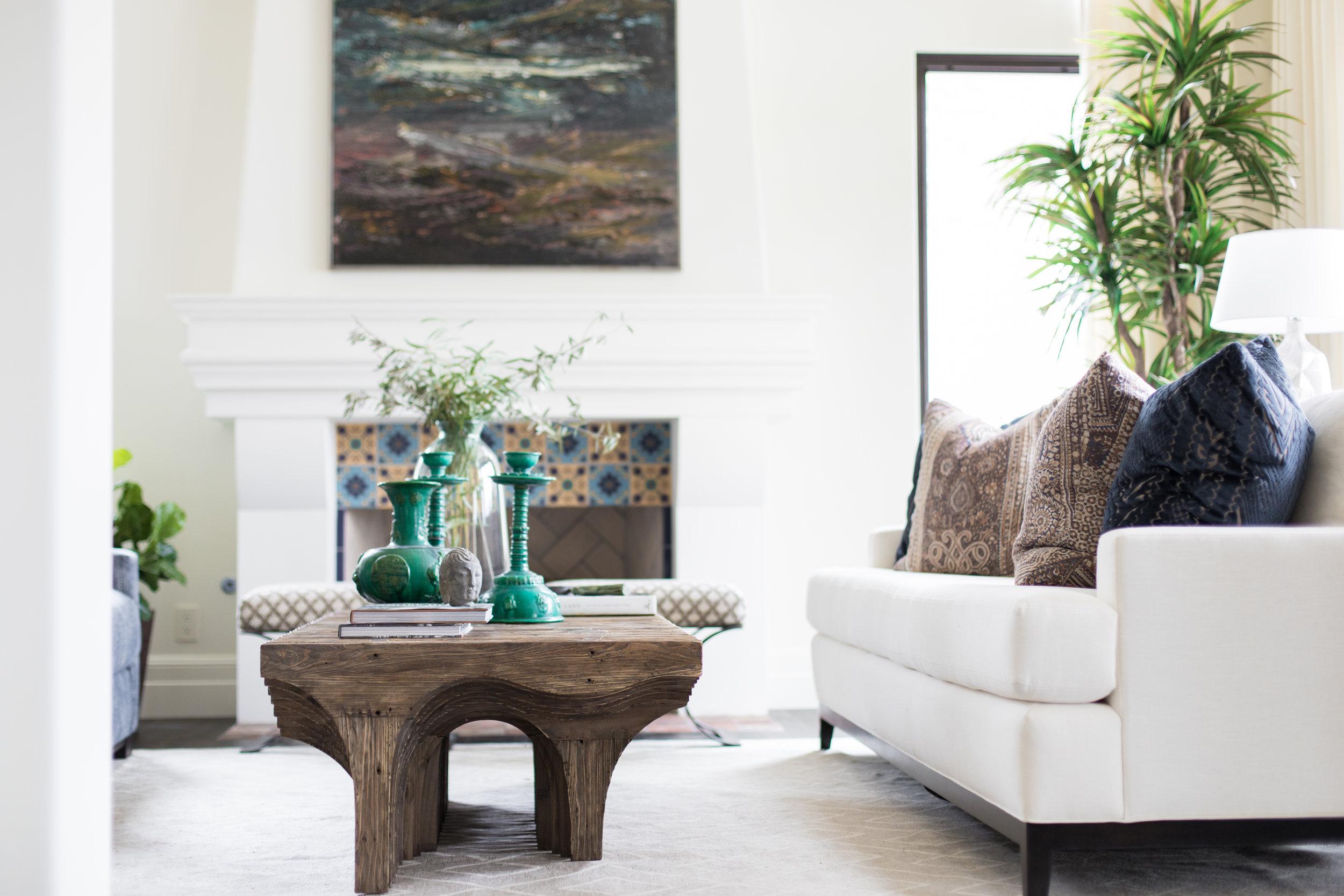 Hilltop Hacienda by Denise Morrison Interiors, Living Room