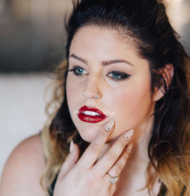 MUA/Hair/Style: Joy Travis  Photographer: Dixie Pixel  Model:  Hannah Jade, MSA Models