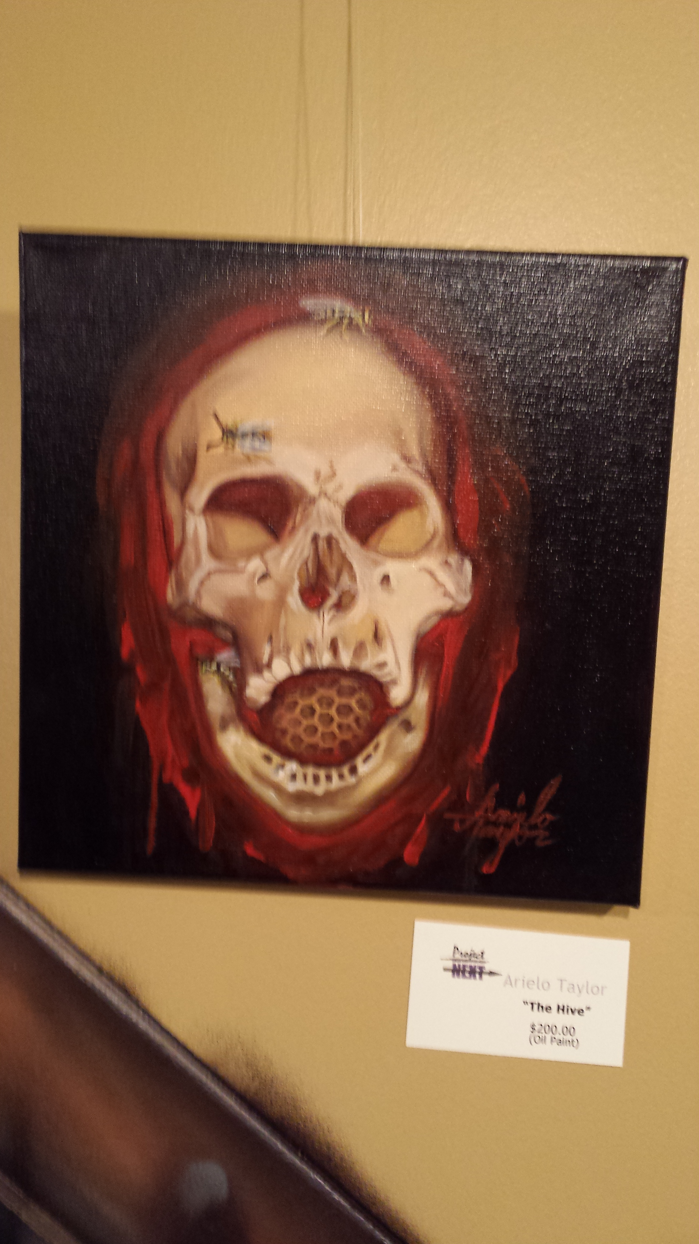 """""""The Hive"""" $200    (Oil Paint)"""