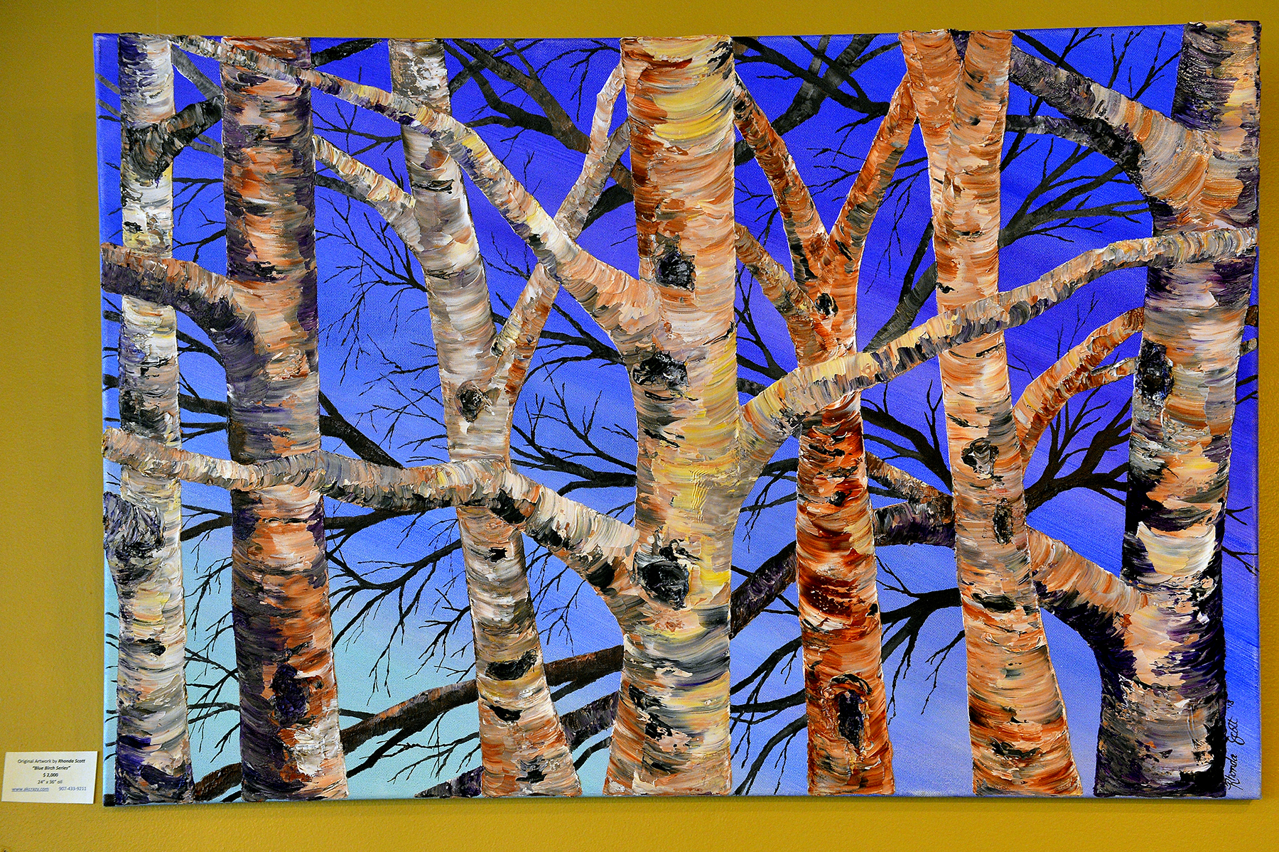 Blue Birch Series