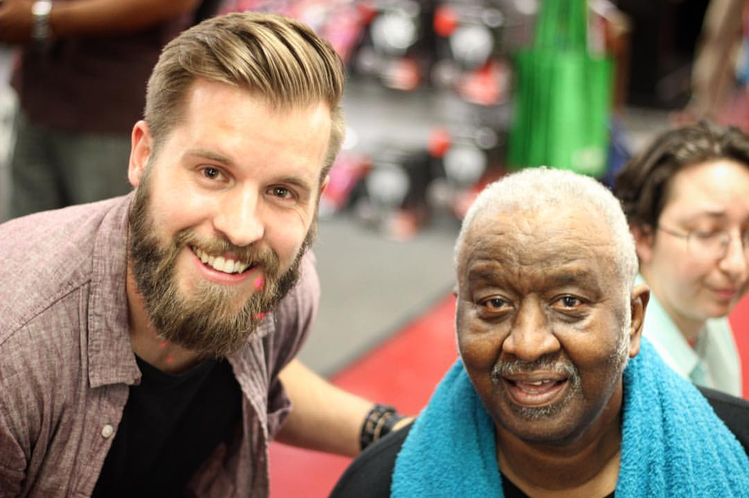 With the legend, Bernard Purdie