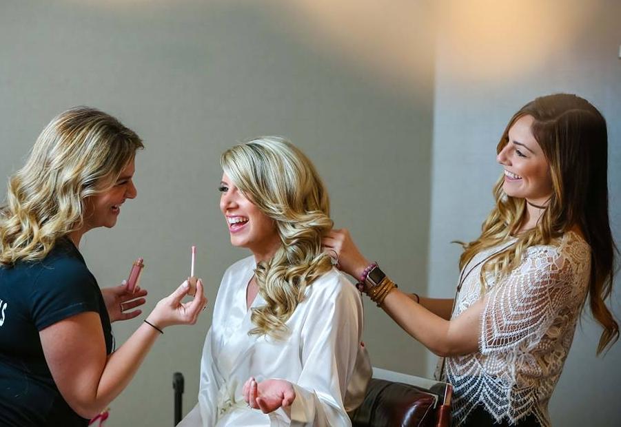 Makeup by Rachels Brides  photos by Emily Harris