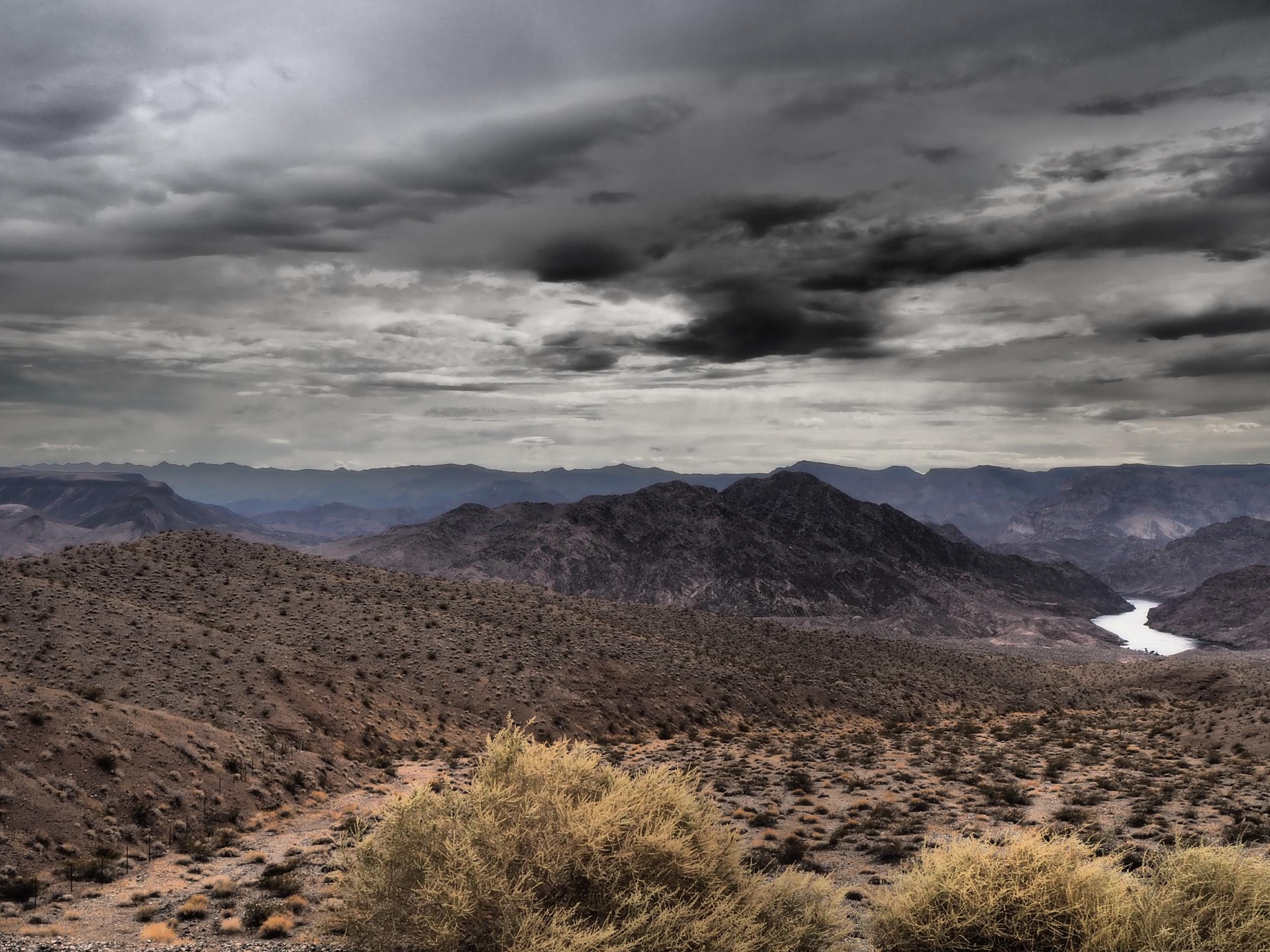 The mighty Colorado River -