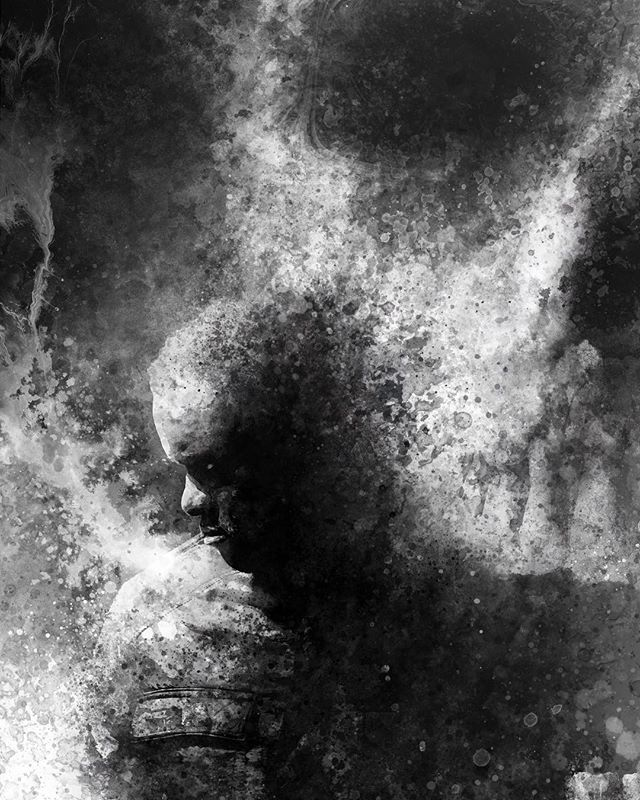 @stevenperkinsart KILLS the art in @thedeadtown !!! He blows us away every day. Wow! . . . #original #art #series #noir #comic #comics #comicart #comicbookartist #noir #noirart #chan #skull #zombie #zombiestory #zombieart #horror #horrorart #horrorcomics #blackandwhite #blackandwhiteart #antihero #characterdesign #poster #detective
