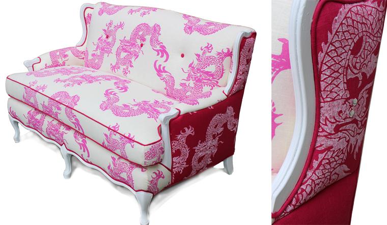 Nastasha Pattern: Printed in two color ways.