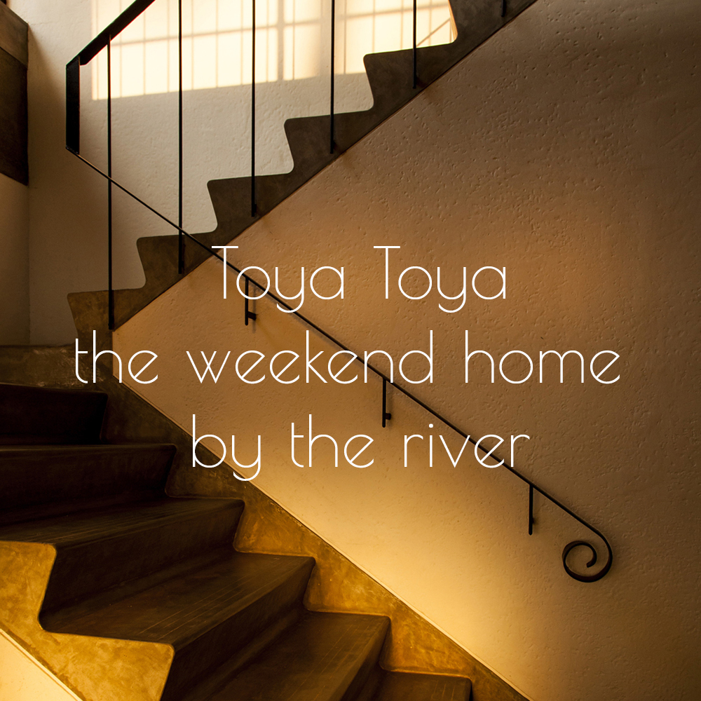 Copy of Weekend home by the river.