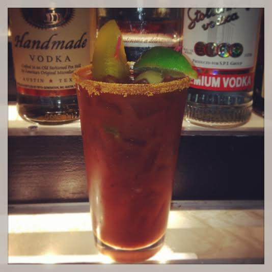 Stevie Ray's Zesty Bloody Mary