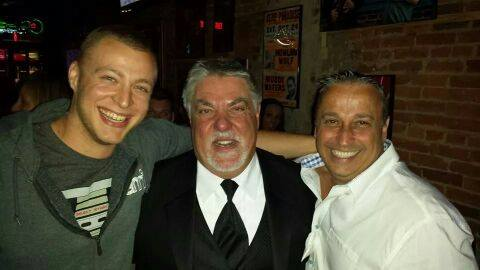 Actor Bruce McGill with Dee Thompson and Jeremy Bottoms