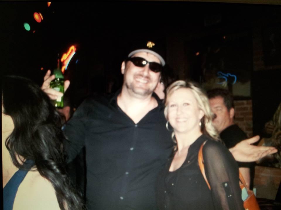 Phil Hellmuth with Judy Huebner