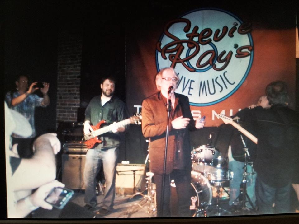 Mike Mills bass player for R.E.M singing with the predators at Stevie Rays Blues Bar
