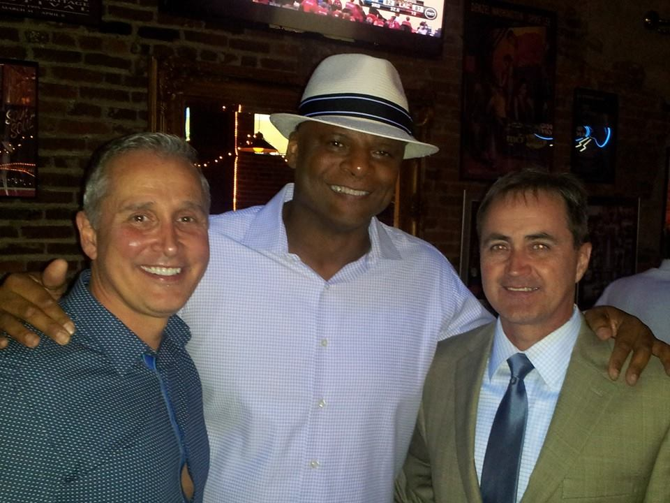 Warren Moon,Bill Coates, and Gary Thompson