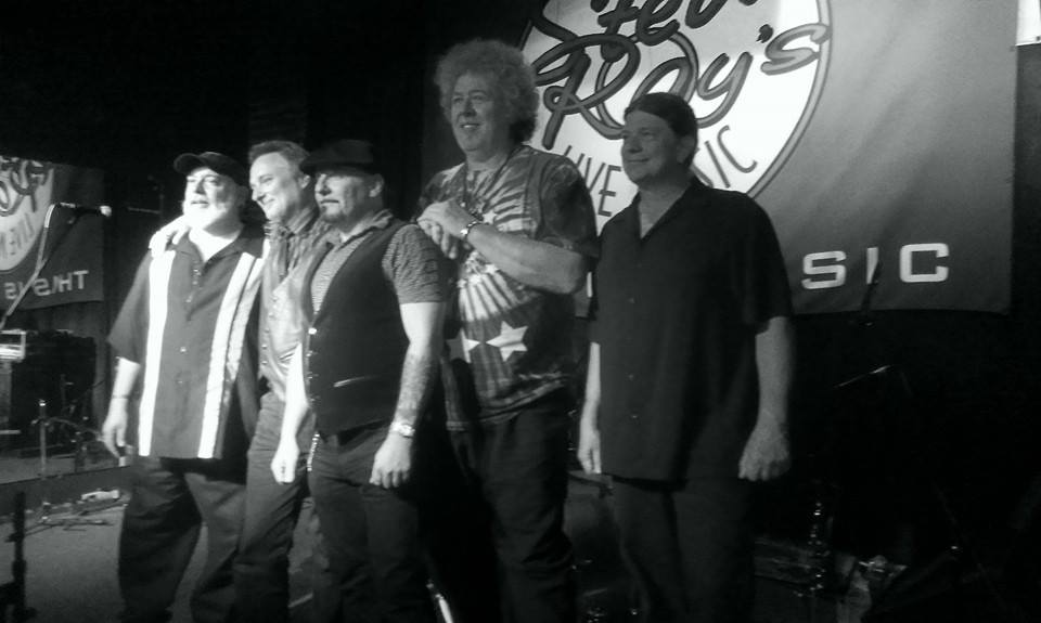Gary Sampson with THE BEATDADDYS