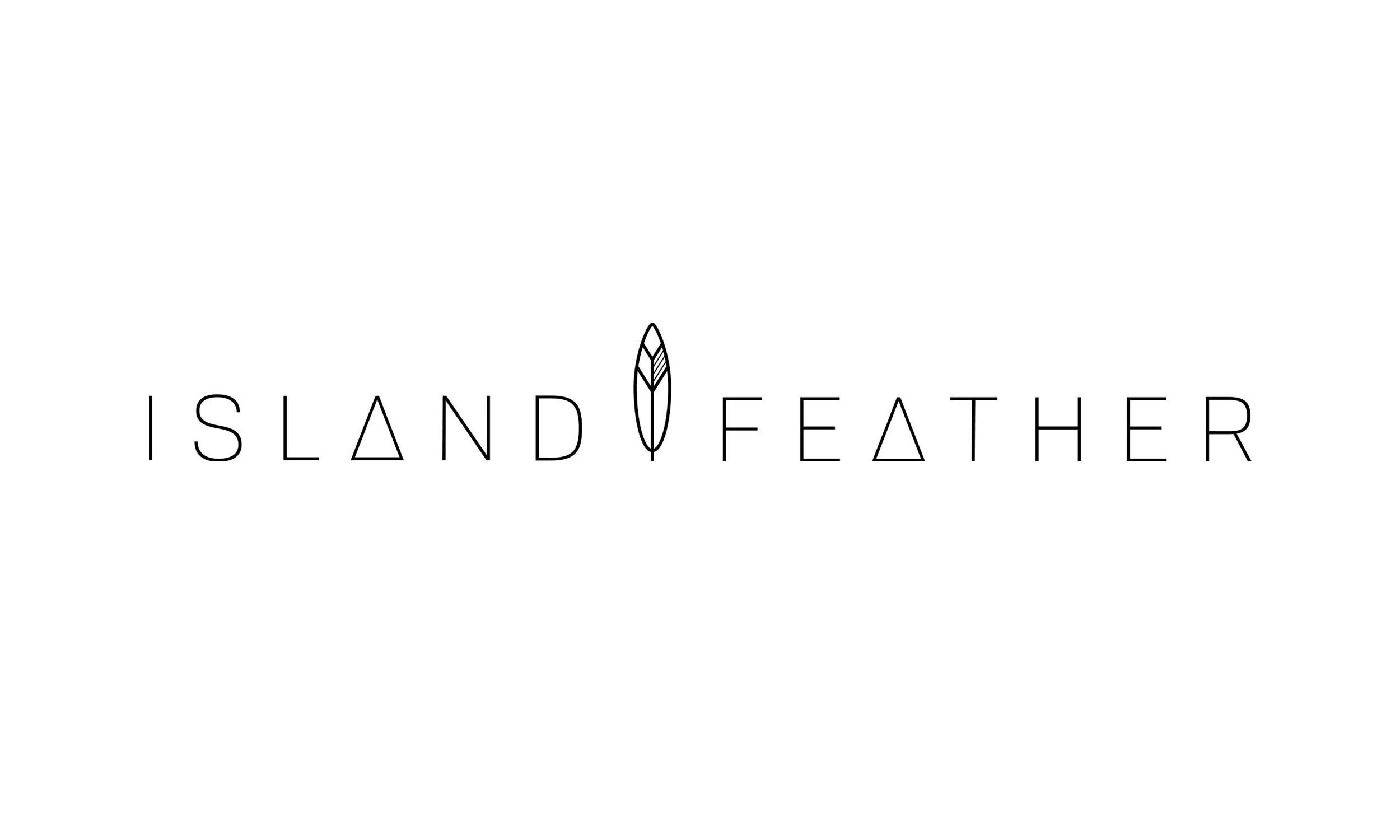 Island Feather Logo