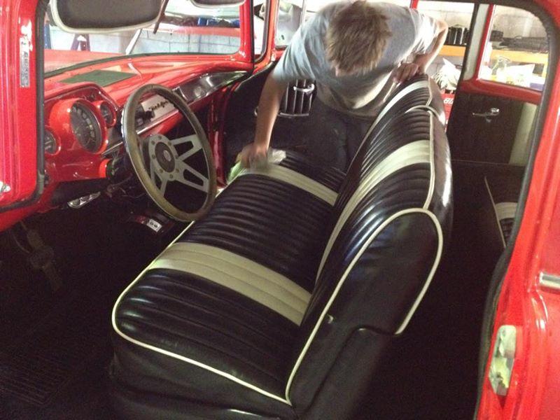1957 Chevrolet 2 door post for sale - australia - ol' school garage (4).jpg