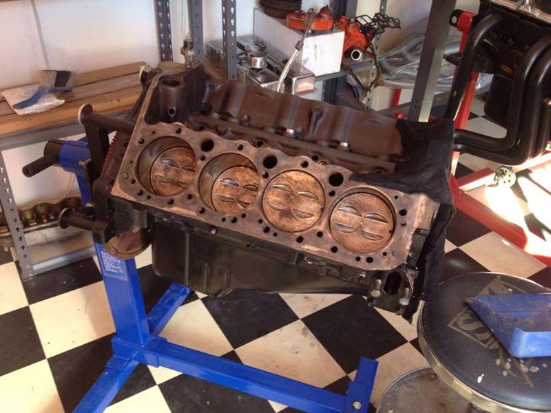 '57 Oldsmobile 2-door Hardtop restoration australia brisbane queensland - ol' school garage respray (2).jpg