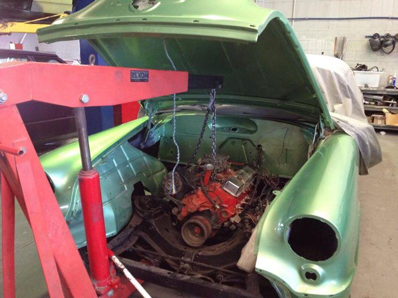'57 Oldsmobile 2-door Hardtop restoration australia brisbane queensland - ol' school garage respray (3).jpg