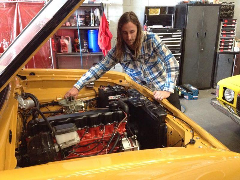 Valiant Charger Restoration Classic Car Muscle Car - Brisbane Queensland - Ol school garage (1).jpg