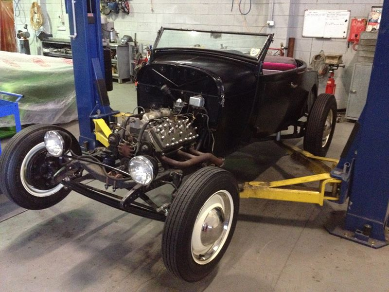 1928 Ford Roadster Hot Rod - Brisbane Queensland Australia _ Ol School Garage (1).jpg