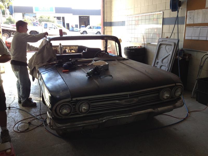 1960 Chevrolet El Camino Restoration - Ol' School Garage (152).jpg