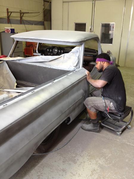 1960 Chevrolet El Camino Restoration - Ol' School Garage (132).jpg