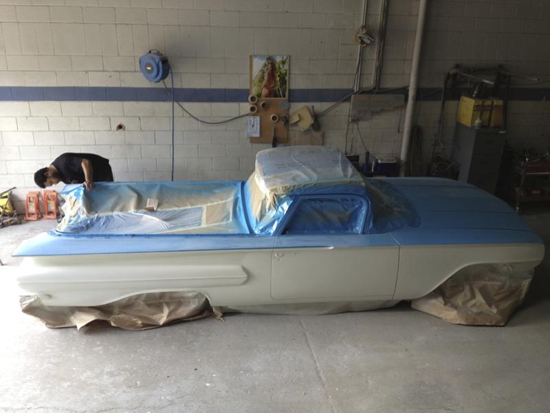 1960 Chevrolet El Camino Restoration - Ol' School Garage (95).jpg