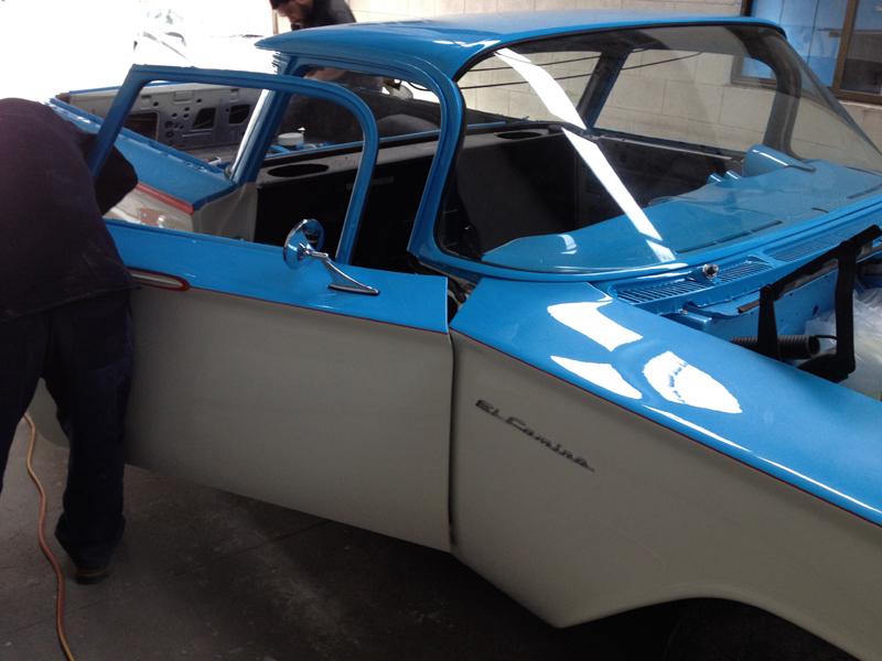 1960 Chevrolet El Camino Restoration - Ol' School Garage (58).jpg