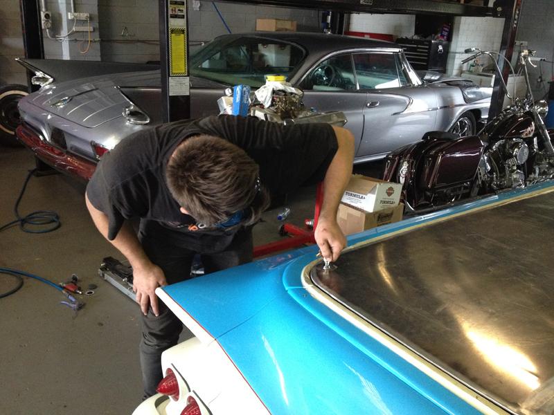 1960 Chevrolet El Camino Restoration - Ol' School Garage (41).jpg