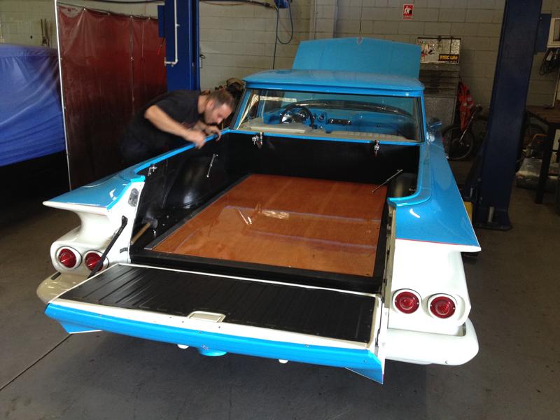 1960 Chevrolet El Camino Restoration - Ol' School Garage (26).jpg