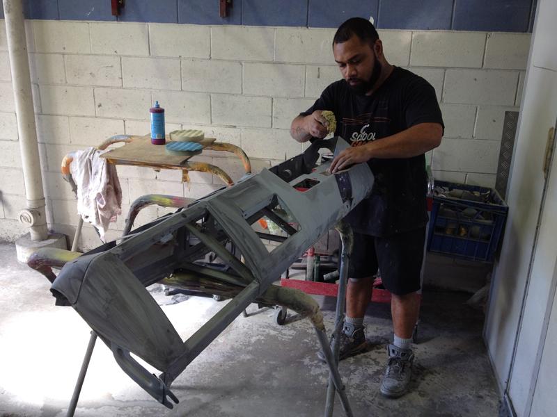 Charger RT VH Valiant - Restoration - Ol' School Garage (16).jpg