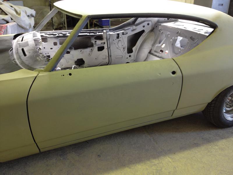 1969 Chevrolet Chevelle restoration - resto mod - Brisbane - Ol' School Garage (27).jpg