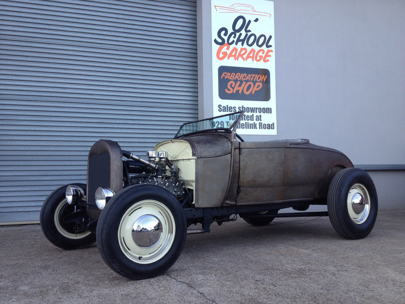 1929 Ford Model A Roadster - Hot Rod - Restoration - Ol' School Garage (58).jpg