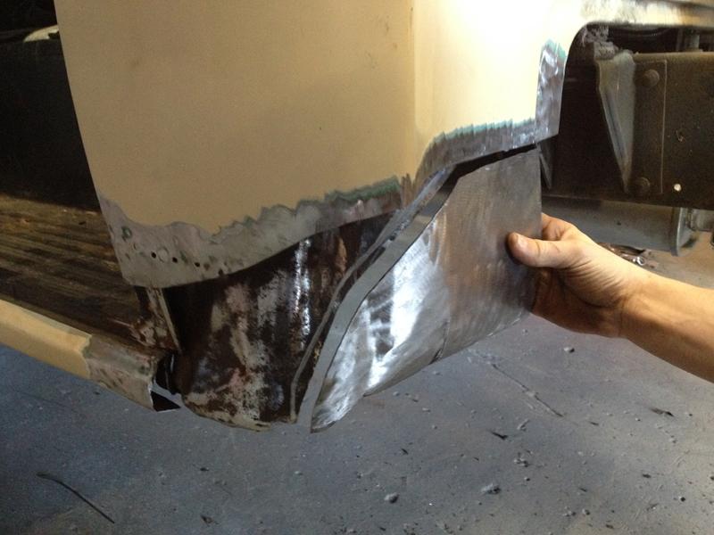 55 Chev pickup truck restoration - ol' school garage (9).jpg