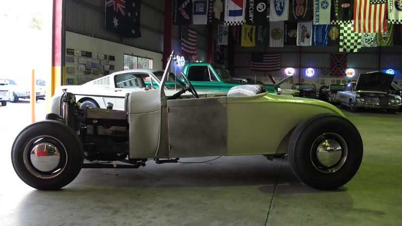 1929 Ford Model A Roadster - Restoration - Ol' School Garage (27).jpg