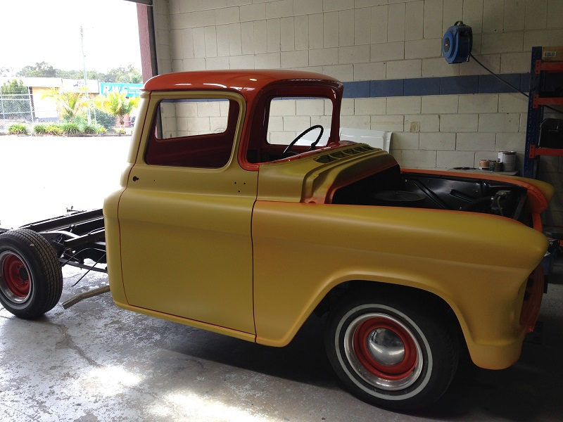 1955 Chevrolet PIckup Truck Restoration - Ol' School Garage (92).JPG