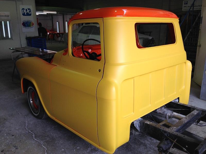 1955 Chevrolet PIckup Truck Restoration - Ol' School Garage (93).JPG