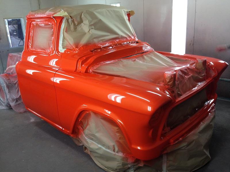 1955 Chevrolet PIckup Truck Restoration - Ol' School Garage (101).JPG