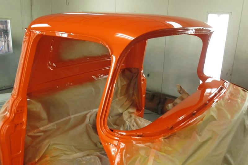 1955 Chevrolet PIckup Truck Restoration - Ol' School Garage (113).JPG