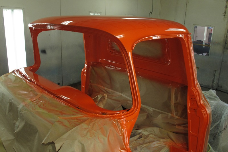 1955 Chevrolet PIckup Truck Restoration - Ol' School Garage (116).JPG