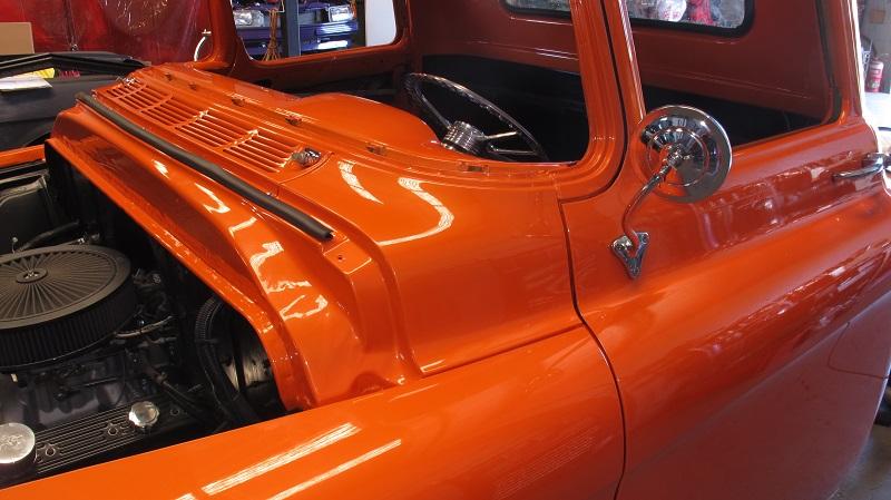1955 Chevrolet PIckup Truck Restoration - Ol' School Garage (119).JPG