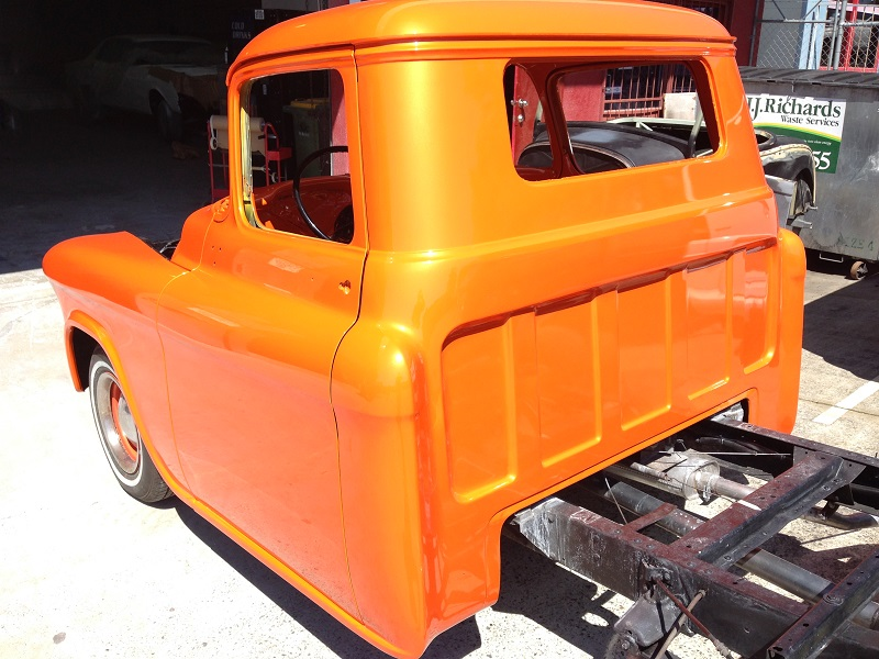1955 Chevrolet PIckup Truck Restoration - Ol' School Garage (104).JPG