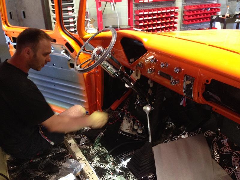 1955 Chevrolet PIckup Truck Restoration - Ol' School Garage (109).JPG
