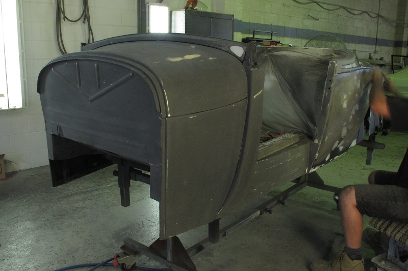 1929 Ford Model A Roadster - Hot Rod Build - Ol' School Garage (13).JPG